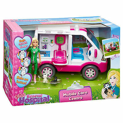 Animagic Animal Rescue Hospital - Mobile Care Centre Vehicle Playset - 60169