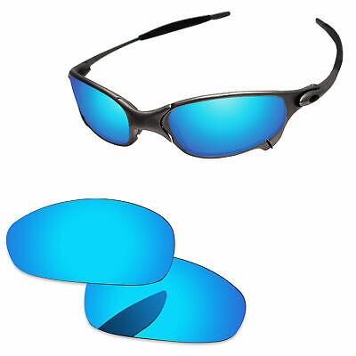 000e4231ccb PapaViva Ice Blue Mirror Polarized Replacement Lenses For-Oakley Juliet