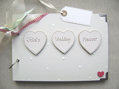 Personalised  Wedding Planner   .A5  Size... Photo Album/Scrapbook/Memory Book.