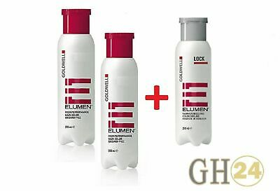 Goldwell Elumen Haarfarbe 2x 200ml + 250ml Lock