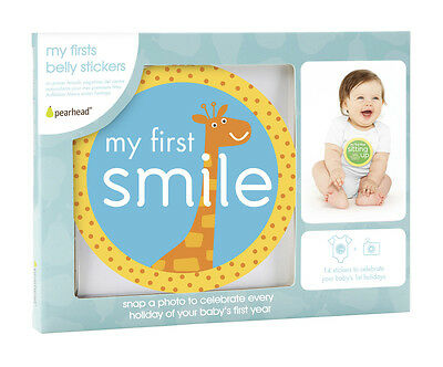 pearehead My 1st moments belly stickers - baby, infant and toddler memory and ke