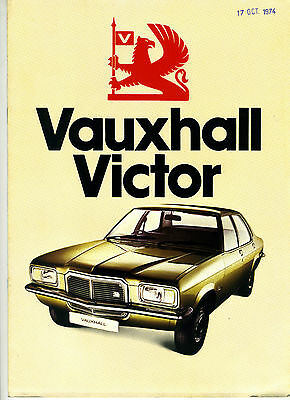 (84) Catalogue Vauxhall Victor