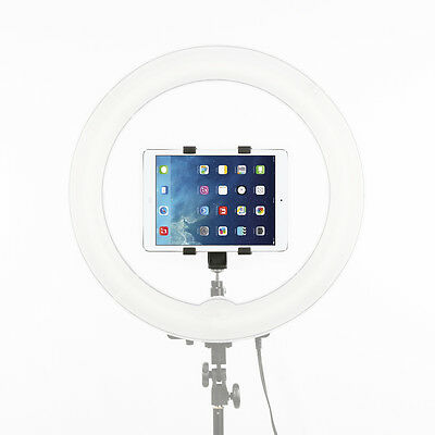 Prismatic Tablet Mount for the Halo Ring Light and similar Diva Ring Lights