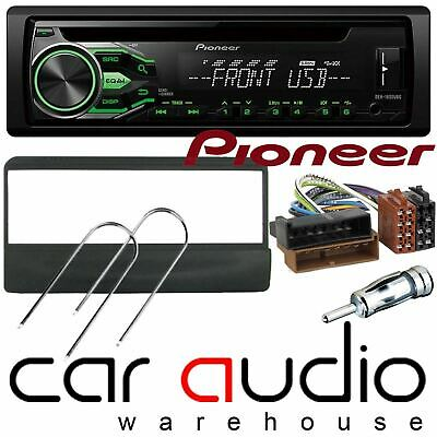 Ford Focus 1998-04 Pioneer Car Stereo Radio CD MP3 USB Aux Player GREEN Display
