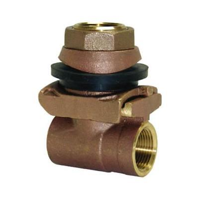 Water Source PA125NL Pitless Adapter, Brass, 1-1/4-In. - Quantity 1