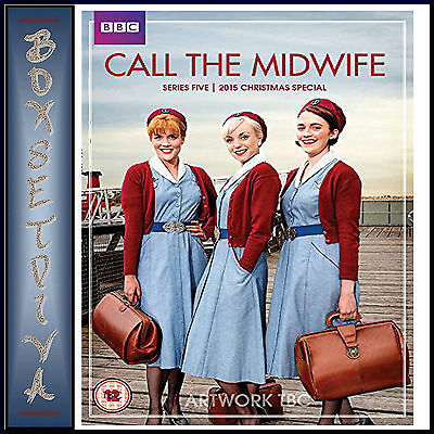 Call The Midwife - Complete Series 5 +2015 Christmas Special *brand New Dvd***