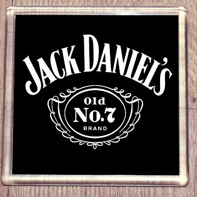 Jack Daniels Drink Clear Acrylic Coaster pick 1 to 4