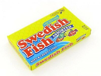Swedish Fish Assorted ( 99g ) USA import Free UK Delivery