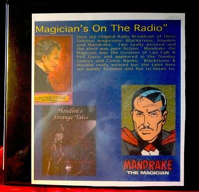 Magicians On Old Time Radio Collection