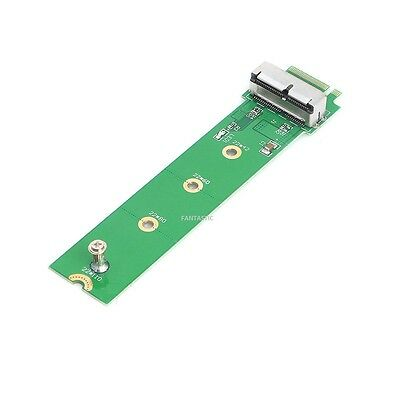 NEW M.2 NGFF X4 Adapter Card To 2013 2014 2015 Apple MacBook Air A1465 A1466 SSD