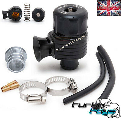 UNIVERSAL 25MM ADJUSTABLE ATMOSPHERIC BOV DUMP BLOW OFF VALVE vw audi seat skoda