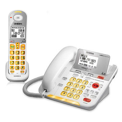 Uniden D3098 Corded / Cordless Phone Combo W /  Digital Answering System