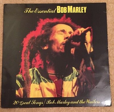 Bob Marley And The Wailers* – The Essential Bob Marley VG Con