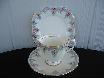 vintage royal albert trio trellis cup saucer and plate 1546 6 available