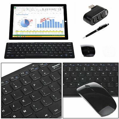 EEEKit for Microsoft Surface,Wireless Bluetooth Keyboard Mouse Combo+Hub+Stylus