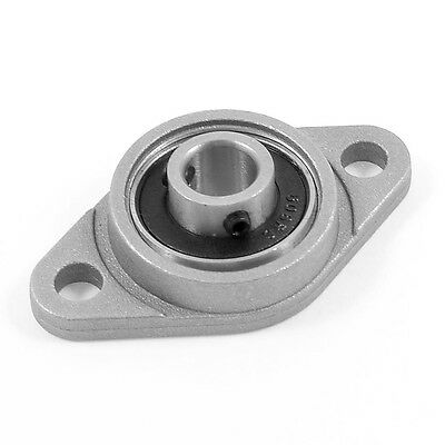 KFL08 8mm Mounted Block Cast Housing Self-aligning Pillow Bearing LW
