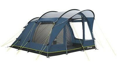 Outwell Rockwell 5 Man Tunnel Tent Three Rooms