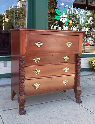 American Classical Empire Butlers Chest