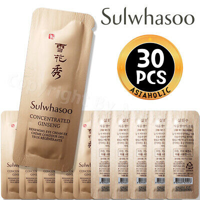 Sulwhasoo Concentrated Ginseng Renewing Eye Cream 1ml x 30pcs (30ml) Sample