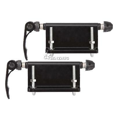 2PCS Bicycle Quick-Release Fork Mounts For Pickup Truck Bed Mount Rack Carrier