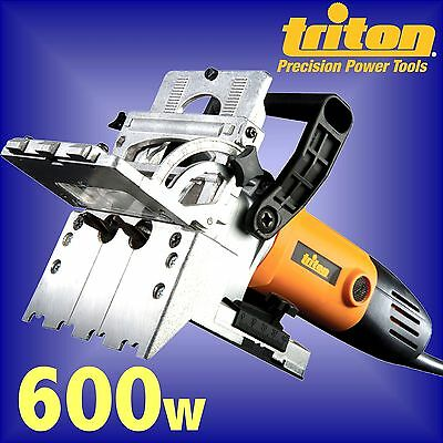 TRITON TDJ600 Duo Dowel Jointer 710w joiner 12mm drill biscuit dowelling router