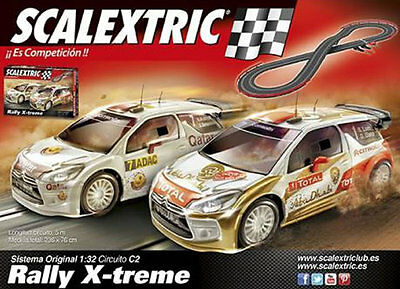 Circuito C2 rally X- Treme Scalextric Ref.A10162S500