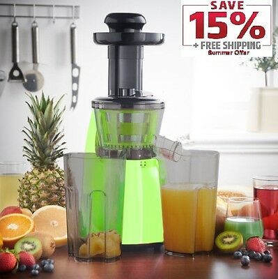 Legend Premium Slow Masticating Juicer Electric Vegetable Juice Extractor
