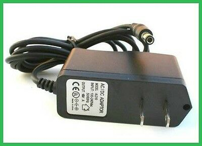 US Plug AC/DC 6V 300mA 0.3A Power Supply adapter wall charger 5.5x2.1mm