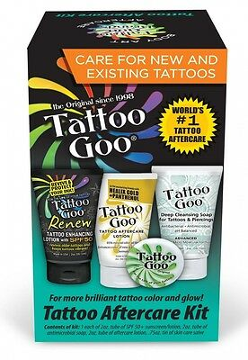 Tattoo Goo Aftercare Kit. Free Shipping