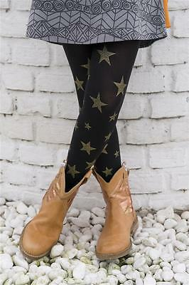 BONNIE DOON STRUMPFHOSE TWINKLING STARS TIGHTS BLACK Gr.92-158 S,M.L.XL NEU