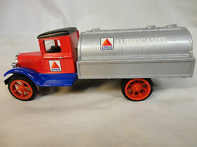 Rare Citgo Gas Lubricants Bank Ertl Die-Cast 1931 Hawkeye Limited Edition /738