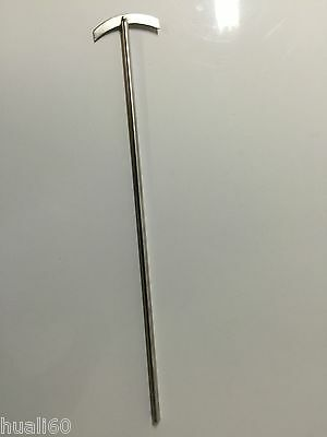 Lab stainless steel  mixer stirrer 7mm shaft, 400mm long  new