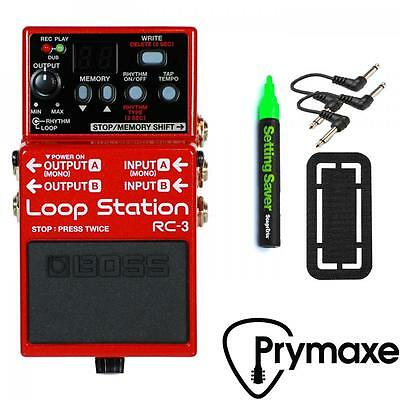 Boss RC-3 Loop Station Looper Brand New WITH FREE PEDAL SUPPLIES