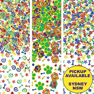 Paw Patrol Party Supplies Confetti Scatters Birthday Table Decorations