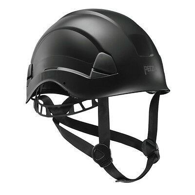 Vertex Best Black Comfortable helmet for work at height and rescue by Petzl