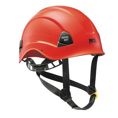 Vertex Best Red Comfortable helmet for work at height and rescue by Petzl