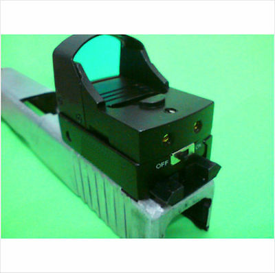 Reflex Sight for GLOCK mini reflector red dot scope optic docter doctor style
