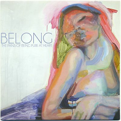 "7"" 45 The Pains Of Being Pure At Heart ‎– Belong / I Wanna Go All The Way"