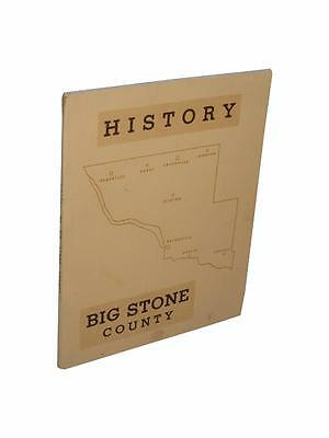 Big Stone County History Minnesota Beardsley Ortonville Barry Clinton Odessa
