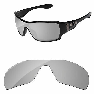 Silver Chrome Mirror Polarized Replacement Lenses For-oakley Offshoot Sunglasses
