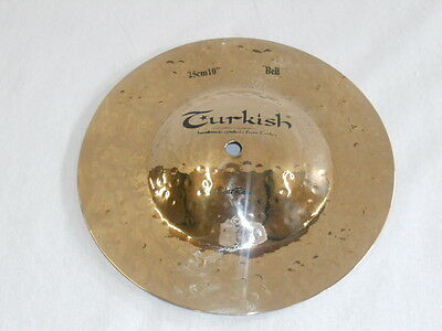 TURKISH CYMBALS cymbale Rock Beat Raw Big Bell 10""
