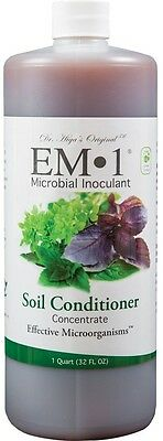 EM-1 Microbial Inoculant Fermented Micobial Product for Soil Conditioning, 0.9l.