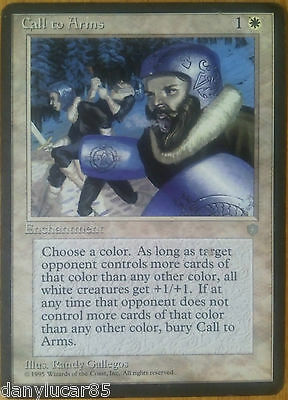 Magic Call To Arms English Enchantment Rare White Ice Age