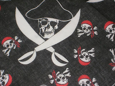 Pirate Sword Bandana, Scarf - 100% Cotton