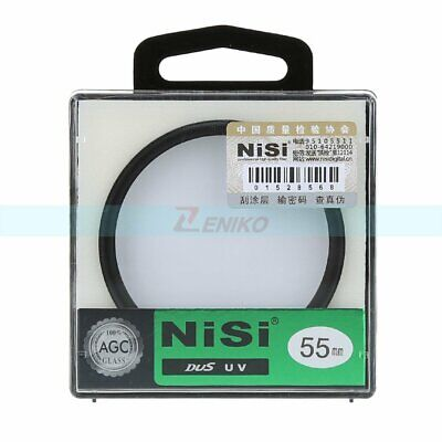 NiSi 55mm Pro UV Ultra Violet Professional Ultra Slim Lens Filter Protector