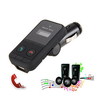 Blutooth Mp3 Player Car Kit Wireless Fm Transmitter With Usb Jack Sd Card Slot