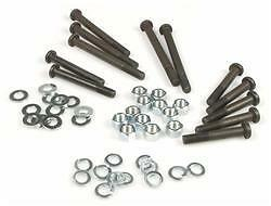 Complete Engine Casing Case Nuts Bolts Washers Set - Vespa 50 Special / Revival