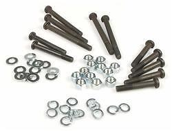 Complete Engine Casing Case Nuts Bolts Washers Set - Vespa Pk 50 / S / Ss / Xl