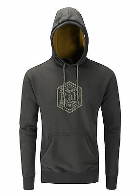 Rab Mens Renegade Hoody Pullover / Cotton Hoodie - Anthracite