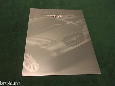 Mint 1999 Chrysler Lhs Sales Brochure New Original 8-1/2 X 11 W/ Color (Box 718)